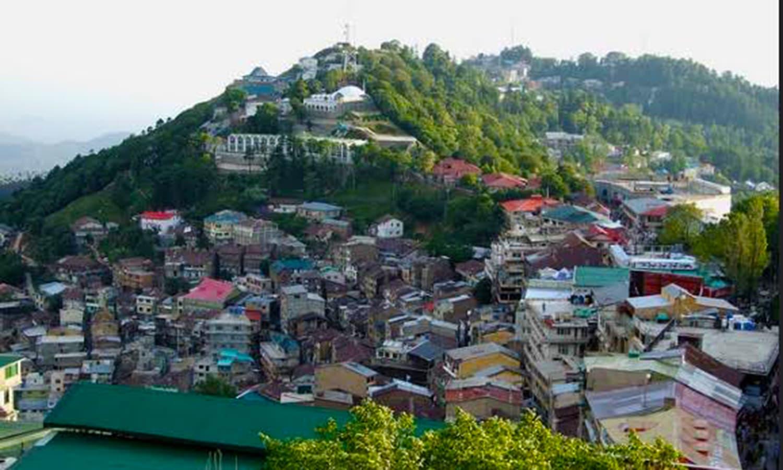 Punjab's cool hilly town of Murree. (Pic: Nauman Hameed)