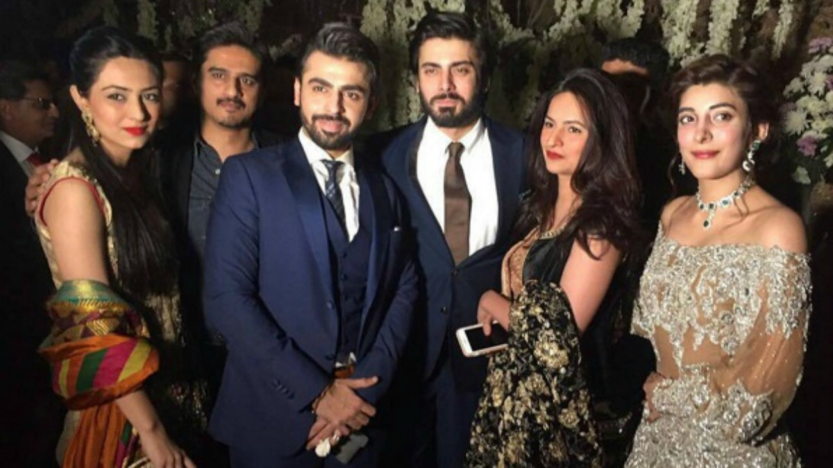 Fawad Khan and his wife, Sadaf were also among the guests
