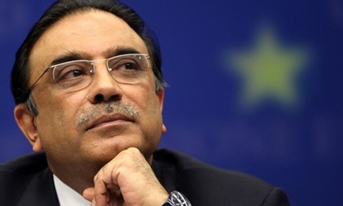 When Zardari returned home from self-exile