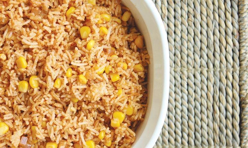 Tex Mex rice
