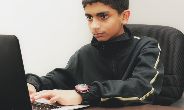 11 year old tech prodigy wows professors at ITU