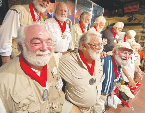 The Ernest Hemingway lookalike contest has been held for 36 years in the writer's home state of Florida, US.— AP