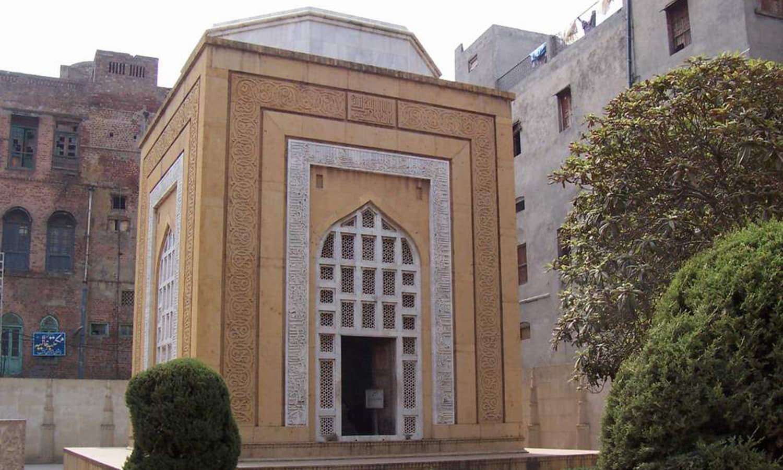Qutb al-Din Aibak's mausoleum, via Wikimedia Commons.