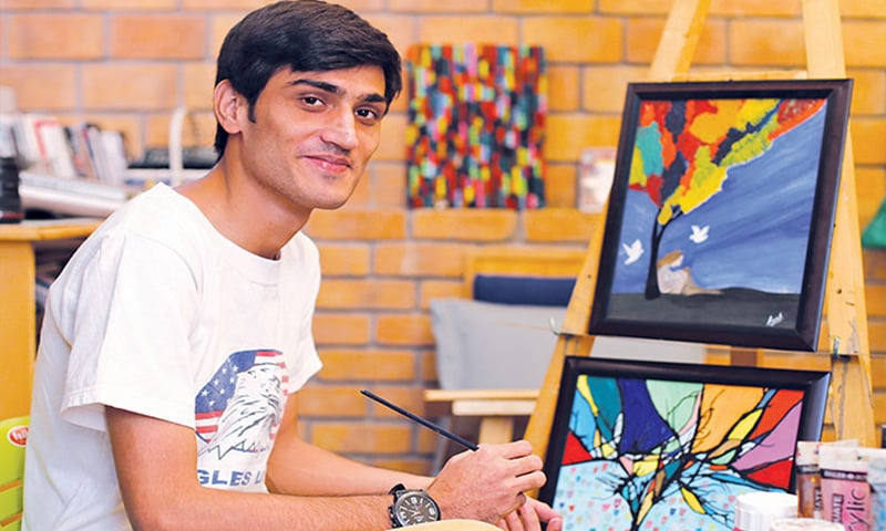 After graduating from TCF in 2013, Ayub took the unconventional route pursuing art.