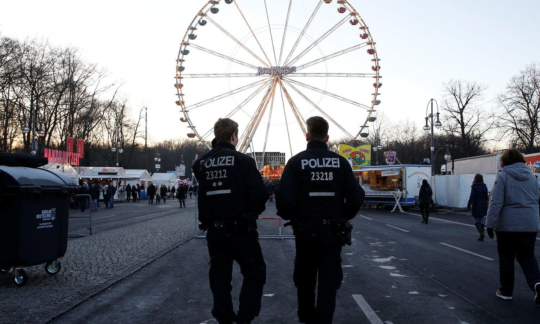 جرمنی میں تخریب کاری کے پیش نظر سیکیورٹی میں اضافہ کیا گیا ہے—فوٹو:رائٹرز