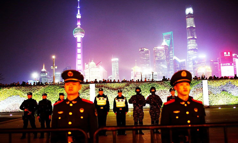 شنگھائی، چین — فوٹو: رائٹرز