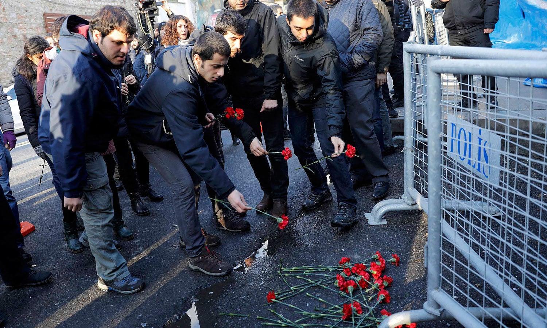 اس سے قبل بھی ترکی میں دہشت گردی کے کئی واقعات رونما ہوچکے ہیں جن میں سے بعض کی ذمہ داری داعش نے قبول کی تھی — فوٹو / رائٹرز