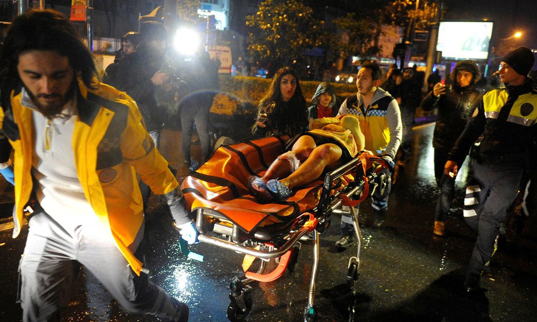 فائرنگ کے نتیجے میں کم سے کم 70 افراد زخمی بھی ہوئے — فوٹو / رائٹرز