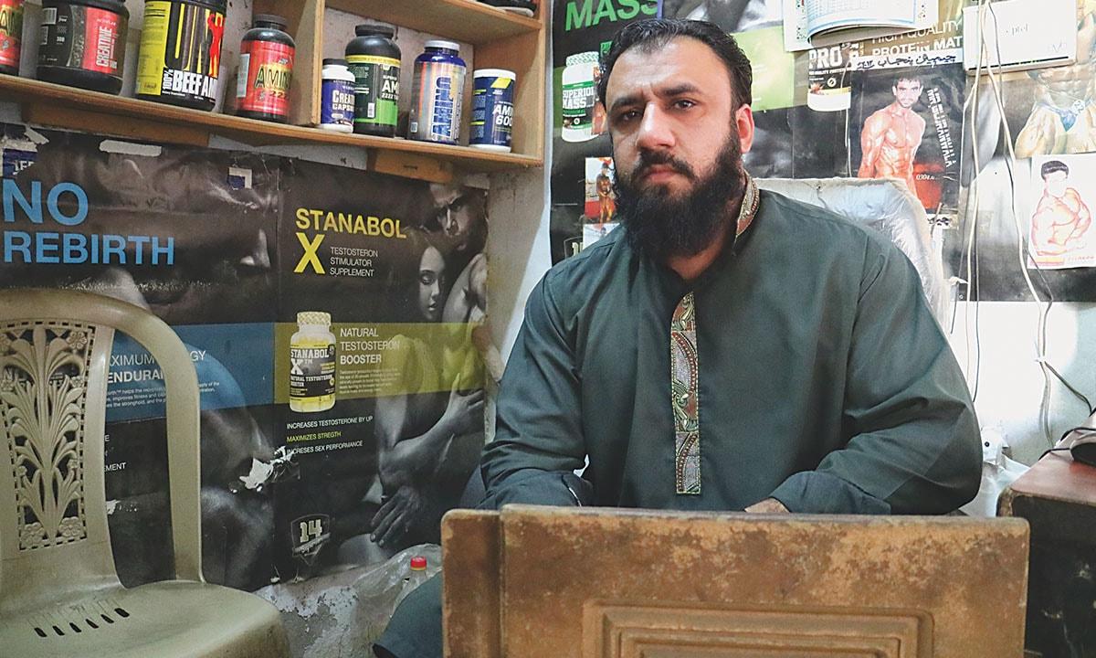 Ibrahim Khan at his store | Umer Ali