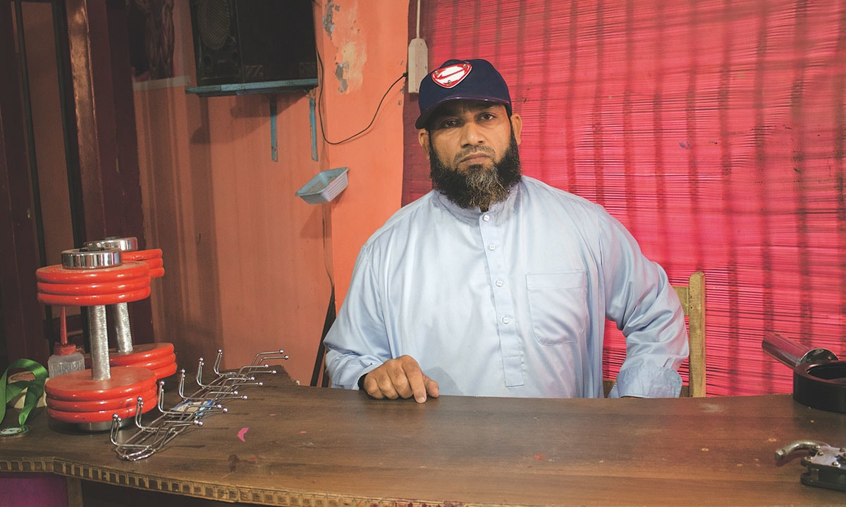 Co-owner of World Gym, Muhammad Shahbaz | Umer Ali