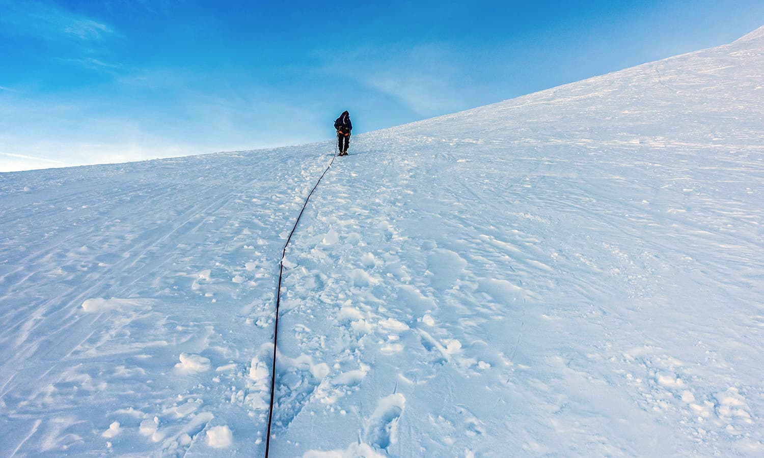 The journey to reach our summit was not that long and took around four hours.