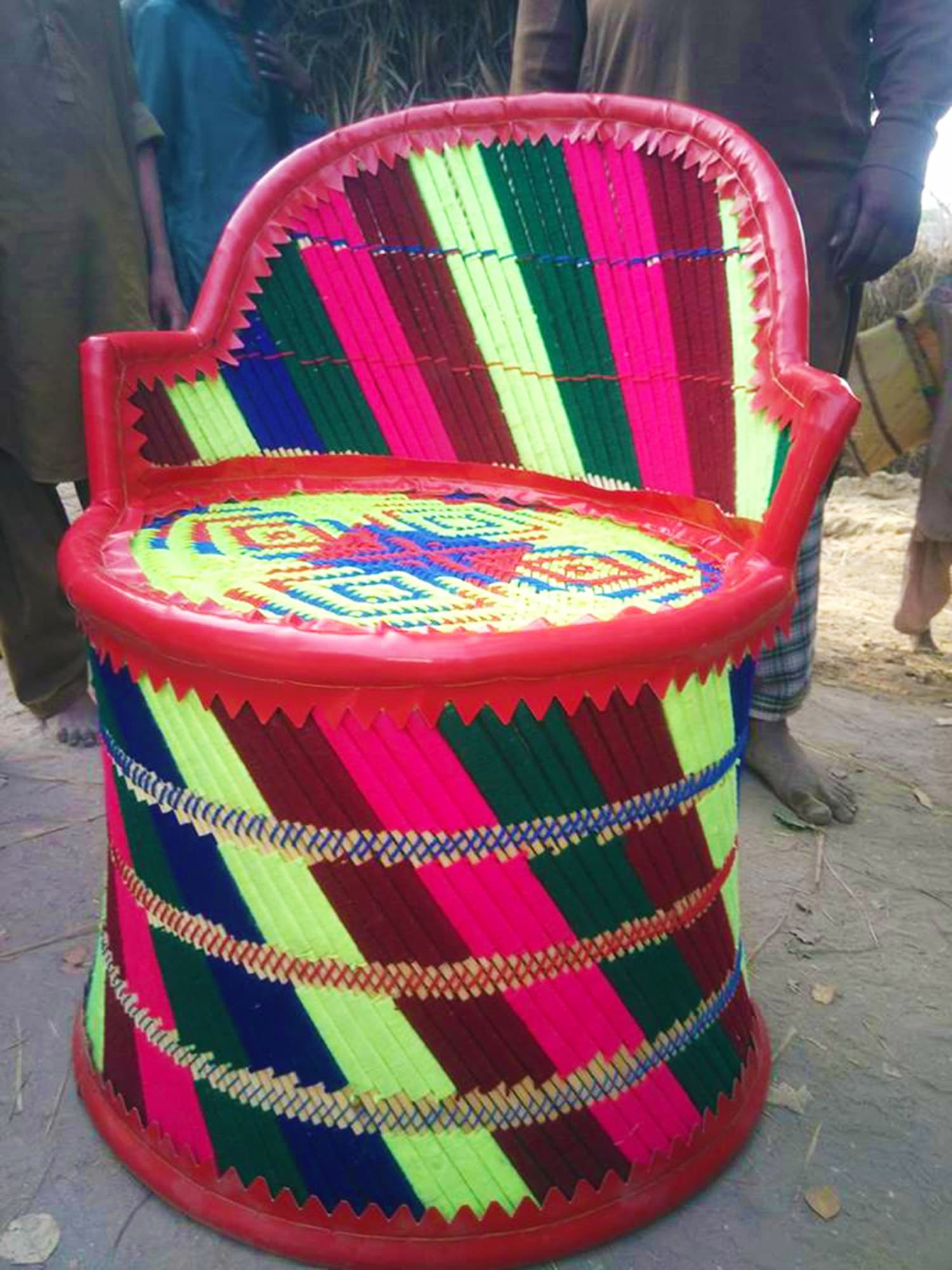 This Sindhi handicraft is the most common form of child labour in Khairpur.