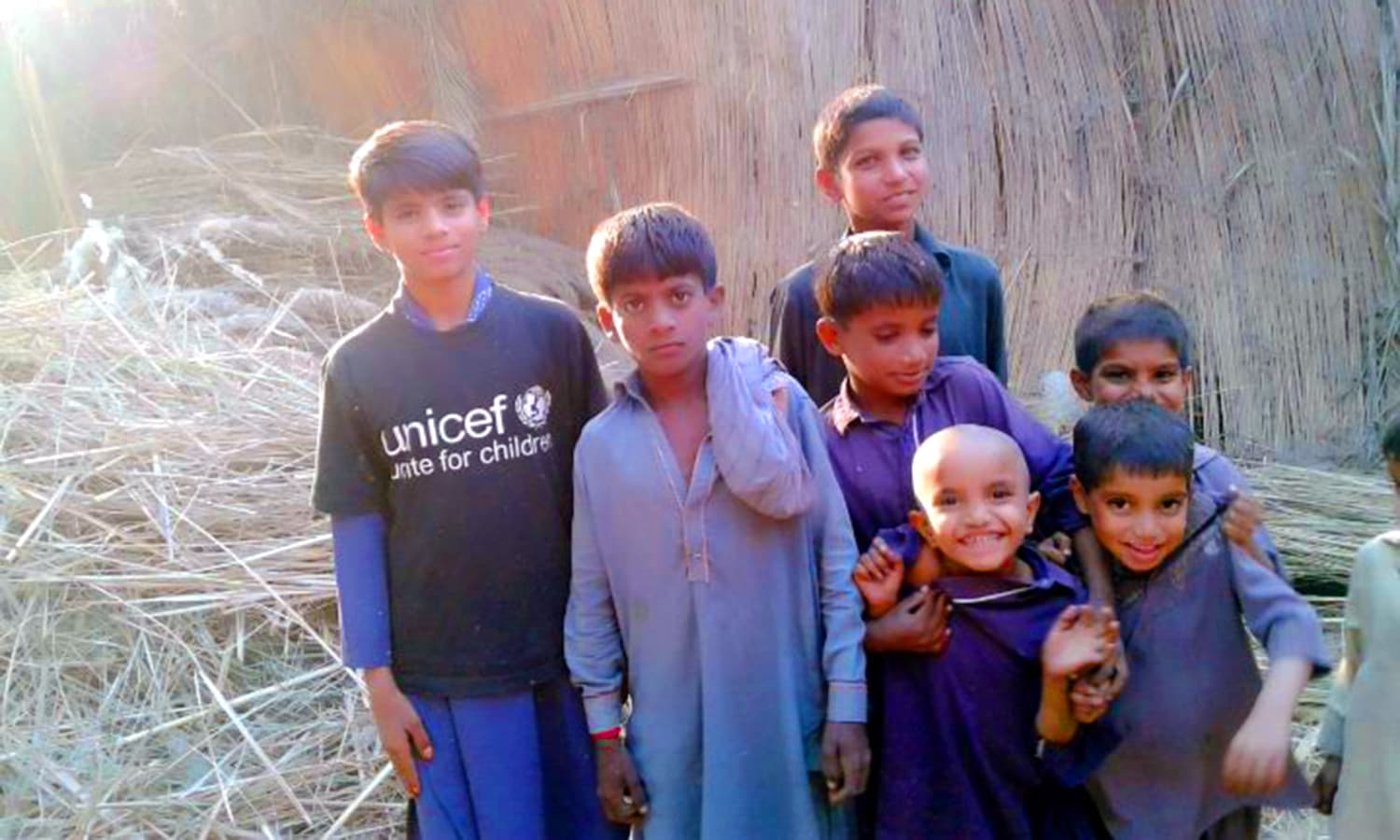 The children of Khairpur continue to struggle to make ends meet.