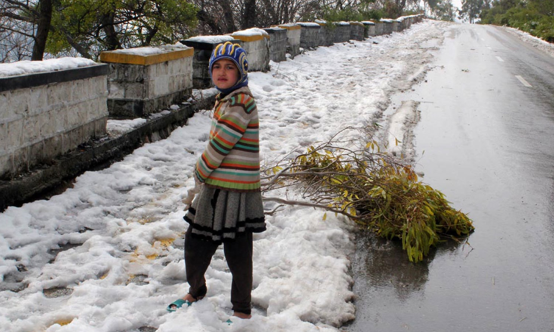 نتھیا گلی، ضلع ایبٹ آباد — فوٹو: آن لائن