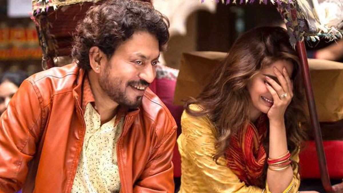 Irrfan Khan shares an adorable shot of Saba Qamar from Hindi Medium