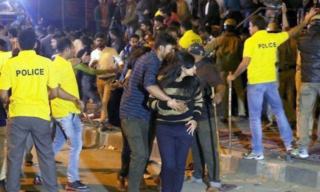 'Mass molestation': No evidence found of New Year sex attacks, say India police