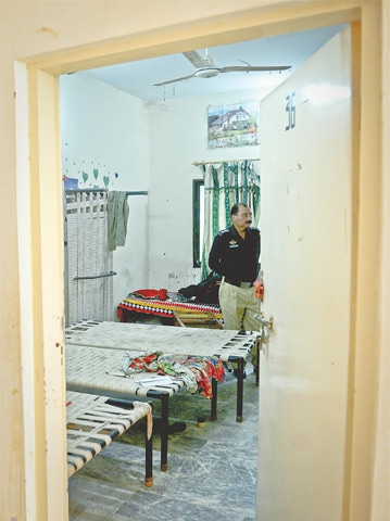 ROOM no 36 of Marvi Hostel.—Fahim Siddiqi / White Star