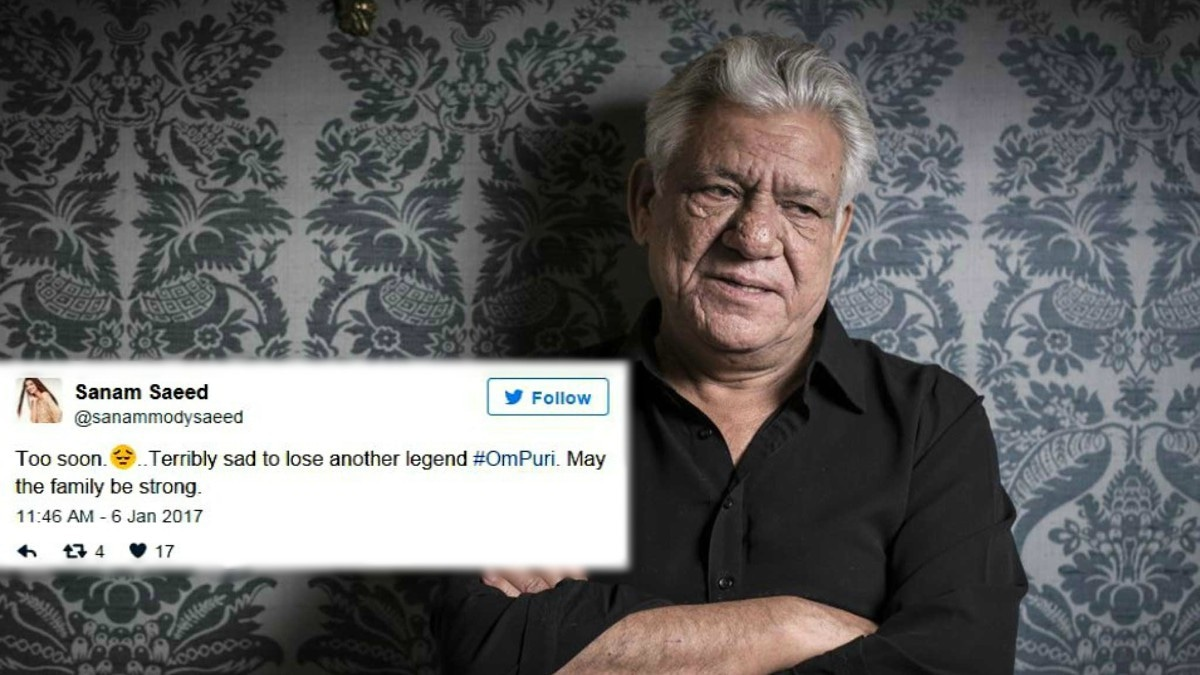 Fahad Mustafa, Meesha Shafi and other Pak celebs pay tribute to Om Puri