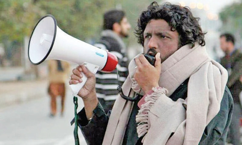 Activist Salman Haider.