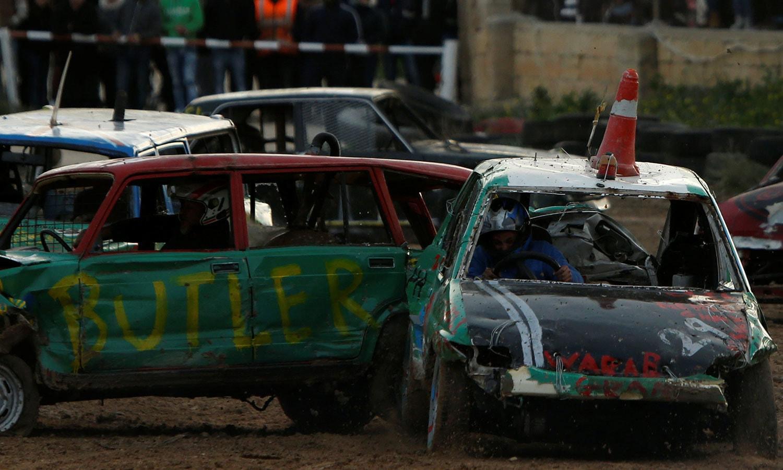 ریس کا انتظام مالٹا موٹر اسپورٹس ایسوسی ایشن نے کیا تھا—فوٹو: رائٹرز