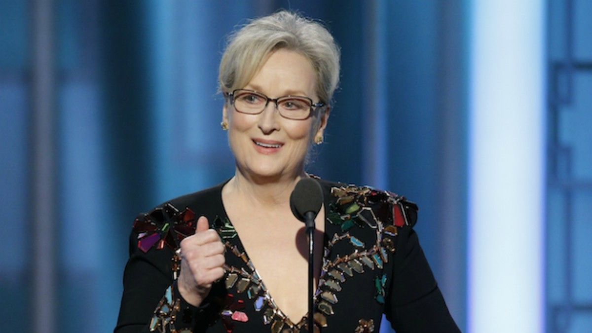 Meryl Streep slams Trump and remembers Carrie Fisher in her speech at the Golden Globes