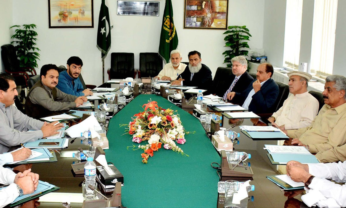 Parliamentarians from Fata meeting in Islamabad in 2015   White Star