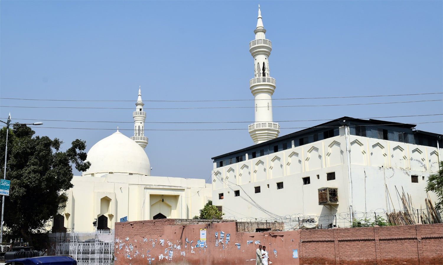 Jamia Imdadul Uloom, also known as Darwaish Masjid.