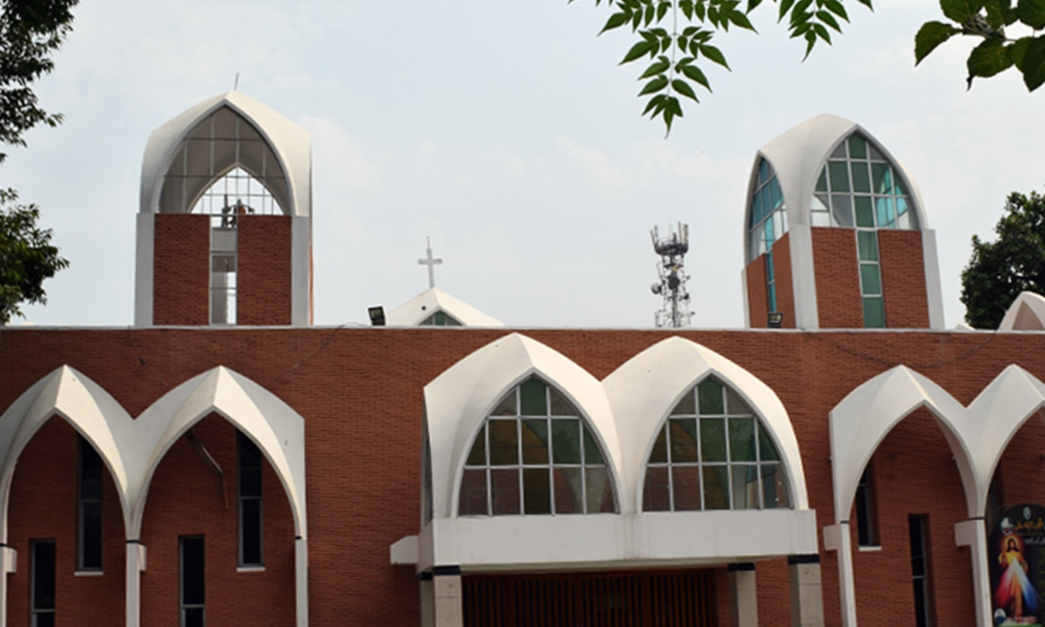 Peshawar's historic St Michael Cathedral Church.