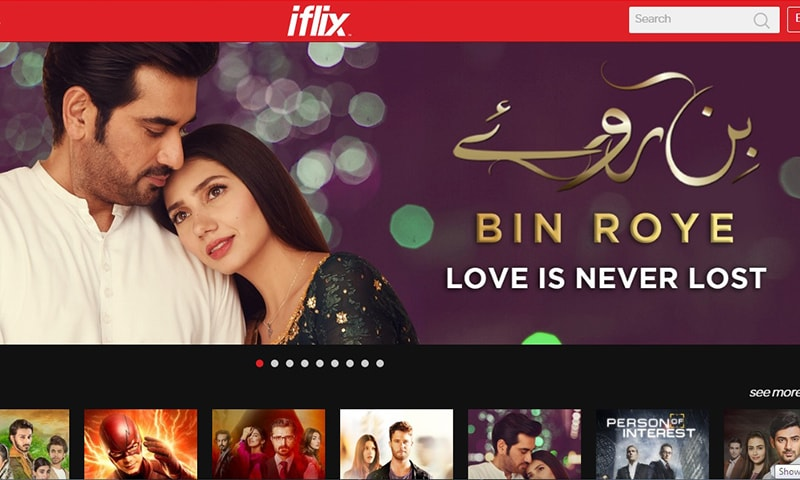 Pakistani users can subscribe to the Malaysian video-on-demand service for Rs300 per month.─ iflix.com