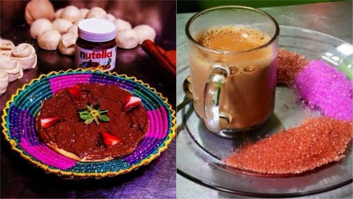 Karachi winter isn't complete without a trip down to the dhaba serving chai with a twist