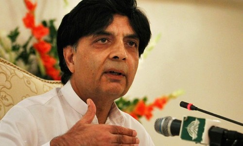 Sectarian groups shouldn't be equated with terrorist outfits, says Nisar