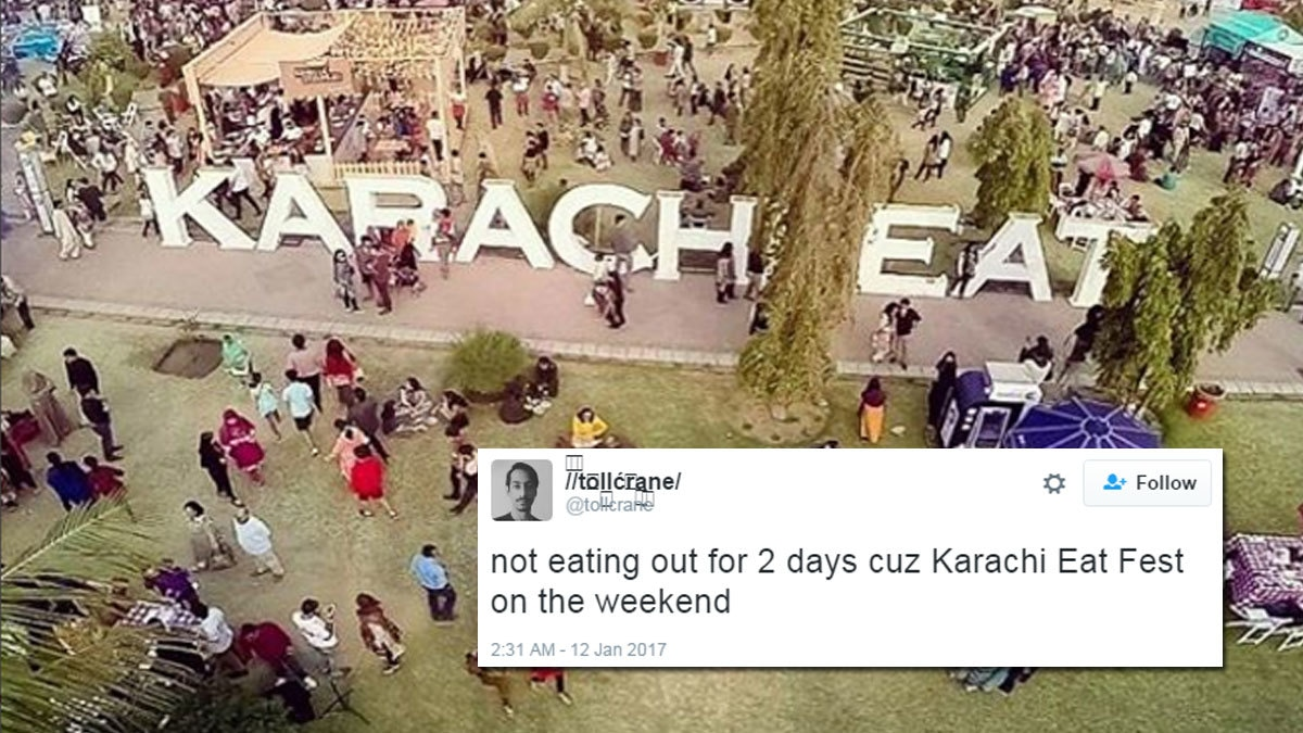 Karachi Eat kicks off today and this city has zero chill