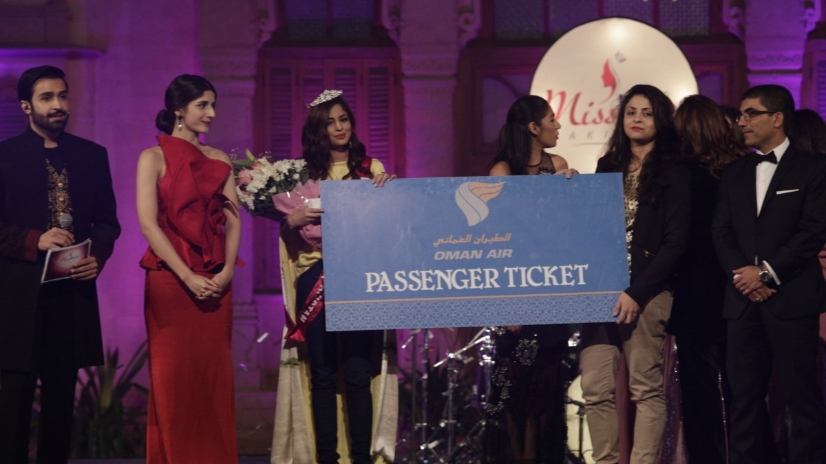 The winner will visit schools and talk to young girls
