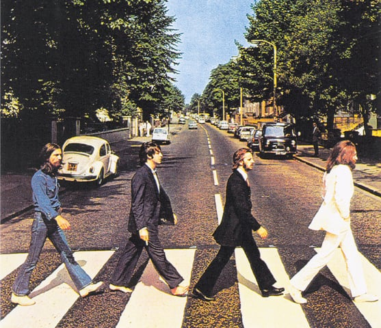 The Abbey Road Album Cover which , according to PID conspiracy theorists , was full of clues