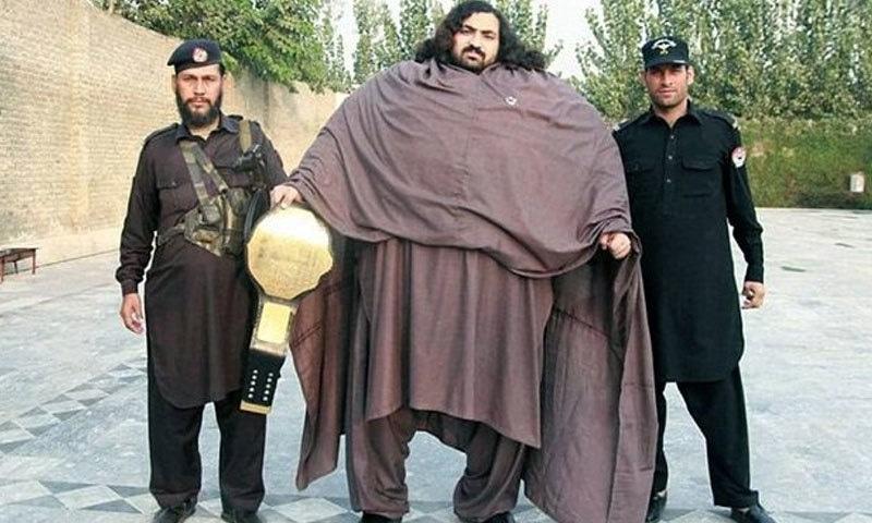 '436 کلو وزنی پاکستانی کی دھوم'