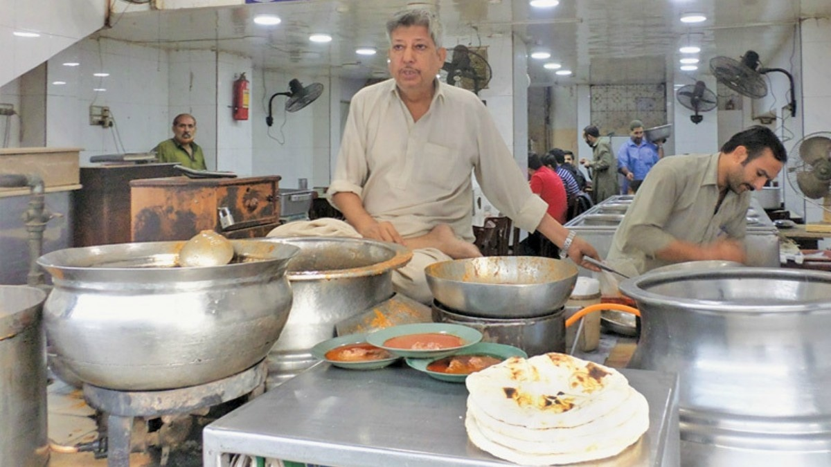 Gul Ahmed Ali, the owner of Malik restaurant