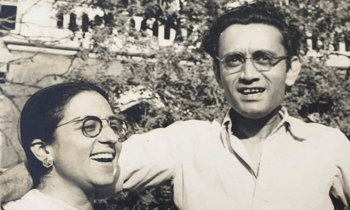 Manto and his wife | Manto Family Archive