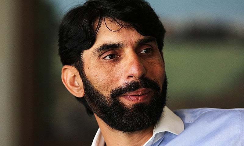 Captain of the Pakistan Test cricket team Misbah-ul-Haq. — AFP