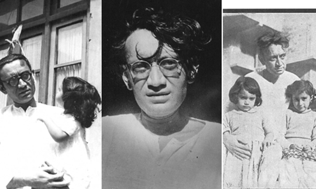Saadat Hasan Manto with his family | Manto Family Archive