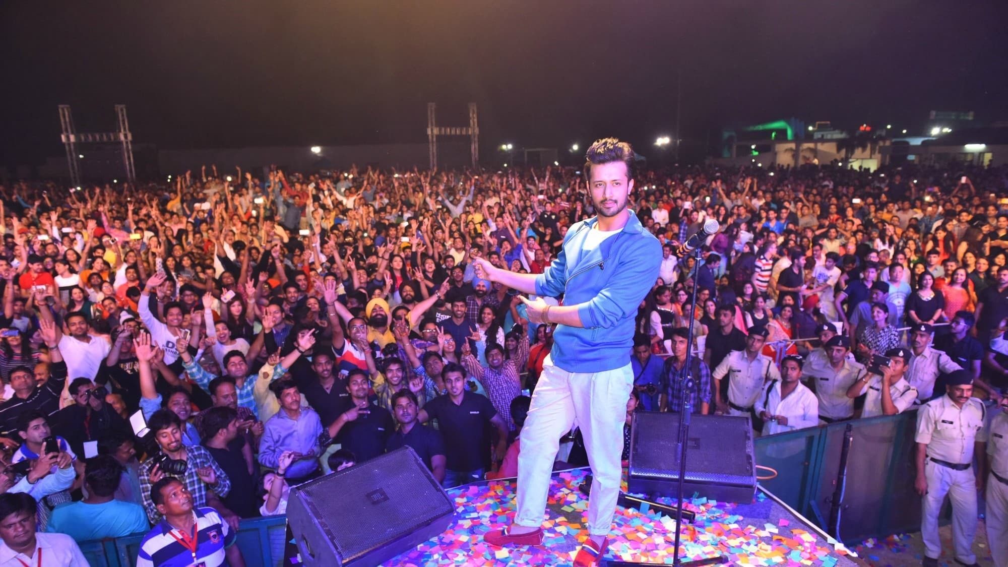 Atif Aslam, Karachi Eat, the woman in the back row and the lies we tell ourselves