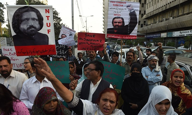 Missing activists' families decry blasphemy allegations