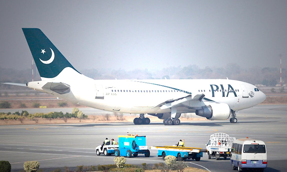 A PIA aircraft on the runway | Reuters