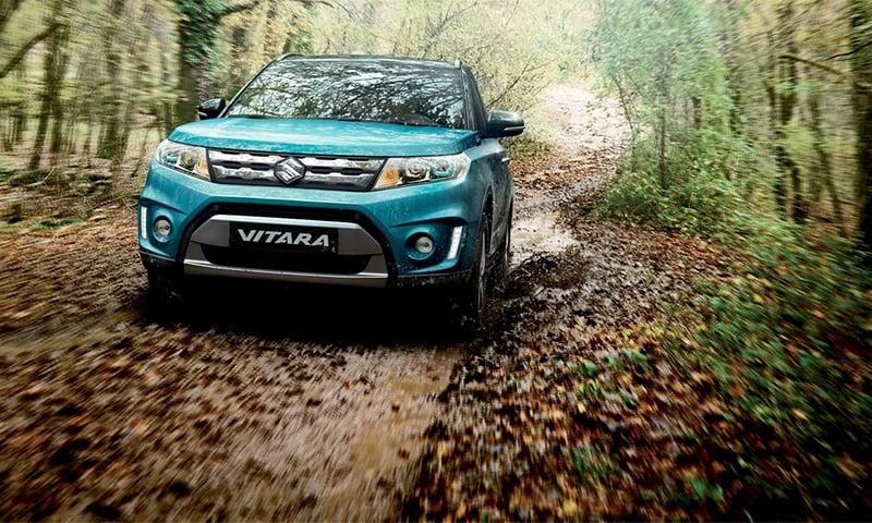 The Suzuki Vitara, a new contender in the crossover market