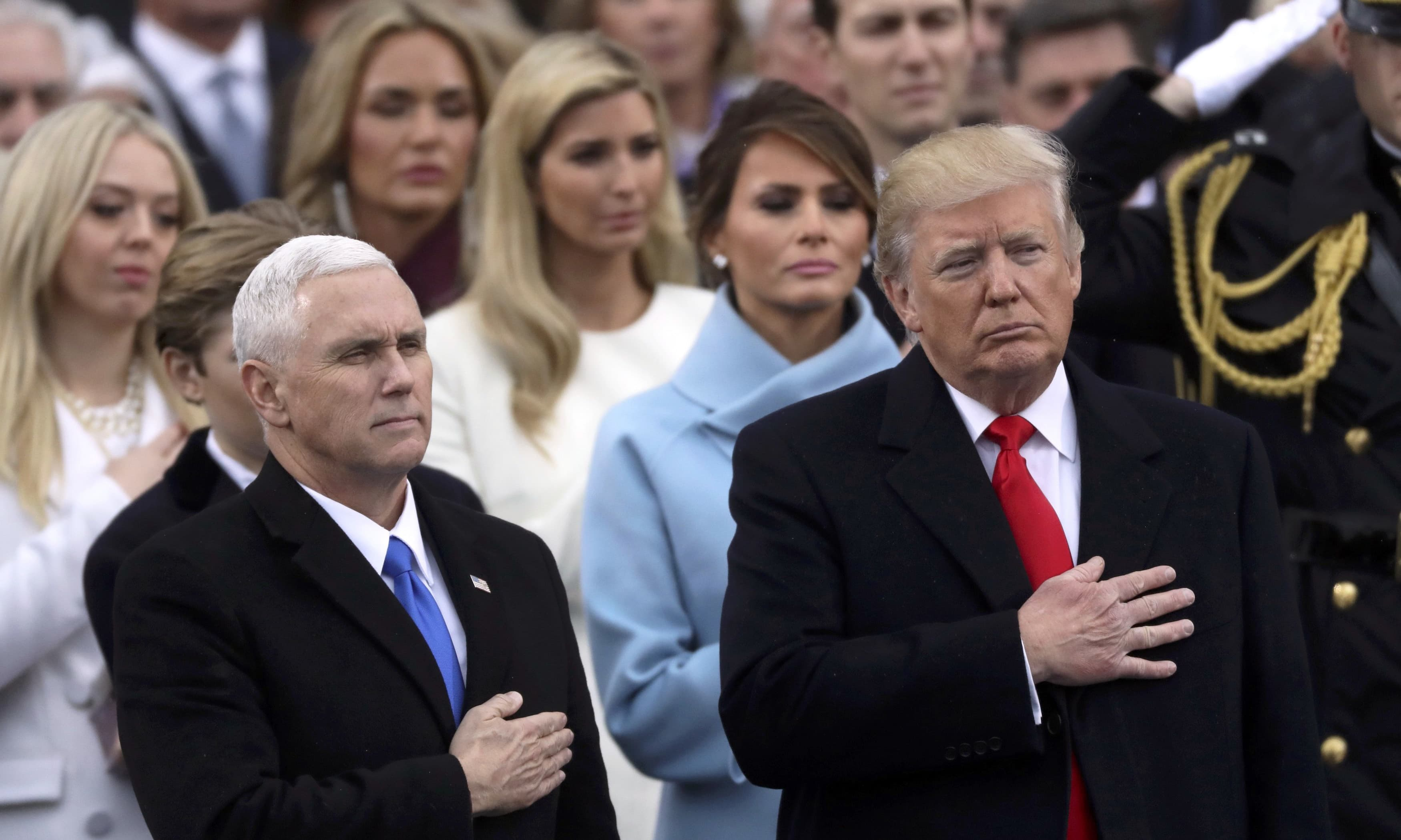 Trump Sworn In As 45th Us President Vows To Eradicate