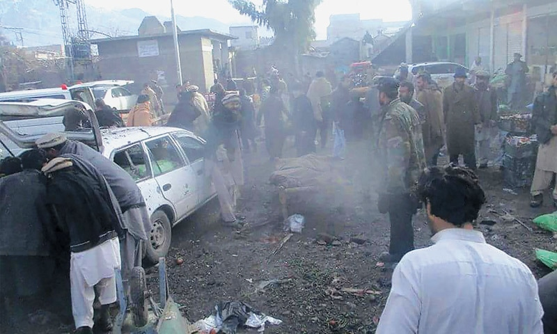 Carnage at Parachinar market; 25 killed, 87 injured