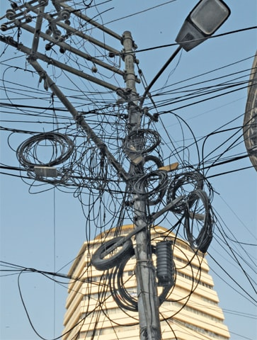 K-Electric says that it is dealing with a culture of theft around the city that will take a long time to reverse