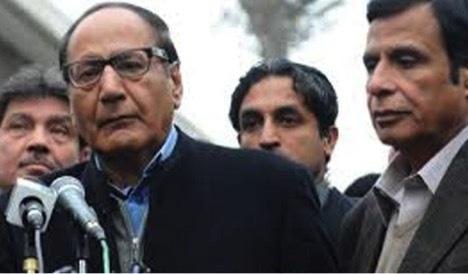 Chaudhry Shujaat Hussain and Chaudhry Pervez Elahi.