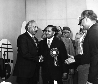 Salam greeting Z.A Bhutto. Photo - PAEC