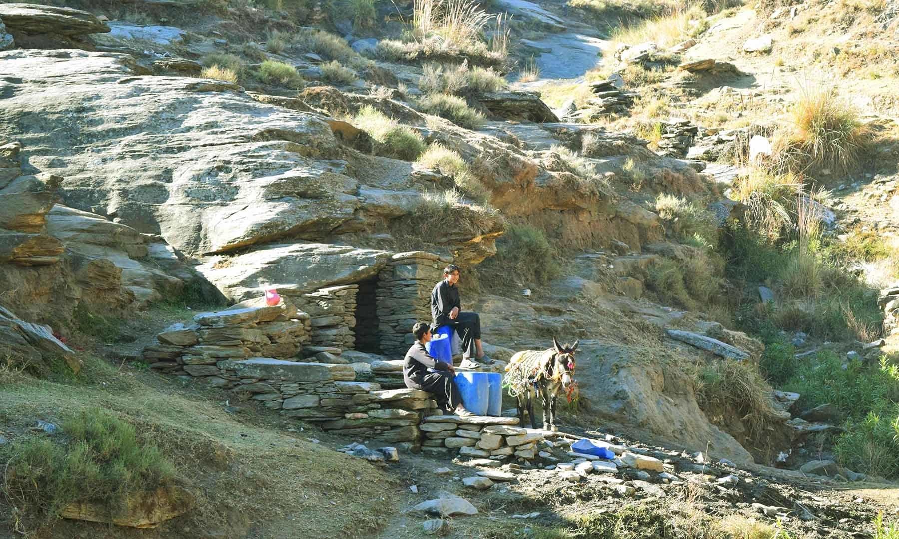 بلو کلے میں پانی کا ہزاروں سال پرانا چشمہ— امجد علی سحاب