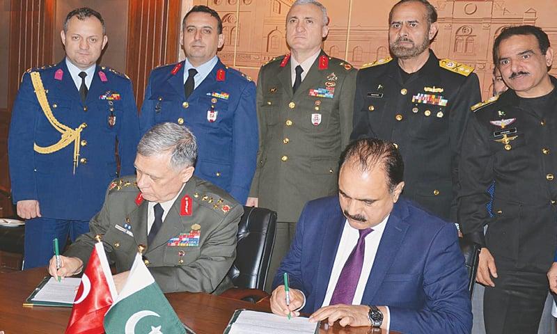 Pakistan, Turkey to negotiate comprehensive defence accord